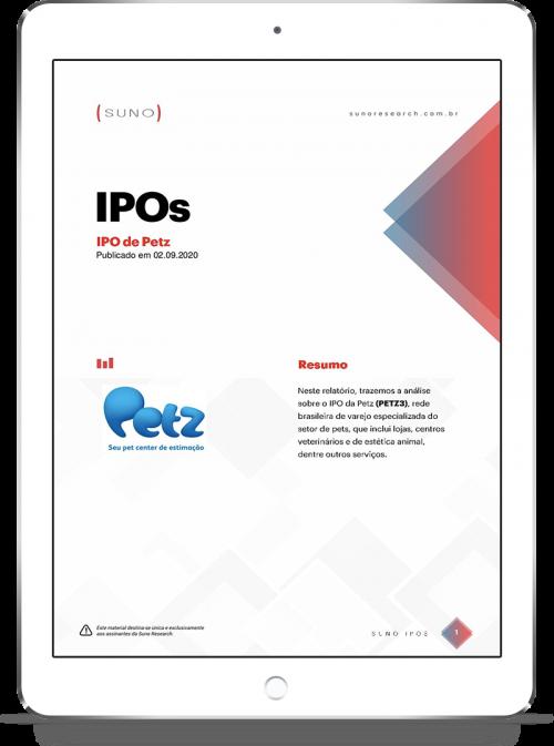 iPad relatorio